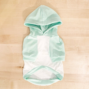 Super Soft Mint Pajama Hoodie - Sample Sale
