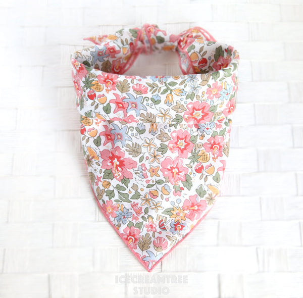 Liberty London Aloha Betsy Bandana - Tie on Liberty London Classic Pet Bandana Scarf
