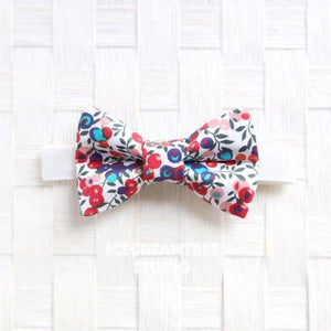 Liberty London Whiltshire Berry Bow Tie - Pet Bow Tie