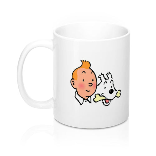 Tintin & Snowy - Ceramic Coffee Mug 11oz