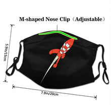 Load image into Gallery viewer, Destination Moon Rocket - Reusable Washable Breathable Adjustable Face Mask