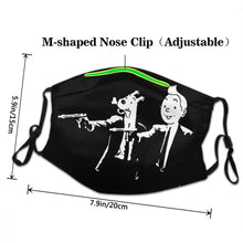 Load image into Gallery viewer, Pulp Fiction - Reusable Washable Breathable Adjustable Face Mask