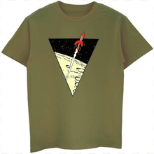 Load image into Gallery viewer, Tintin Rocket - Soft 100% Cotton Tee