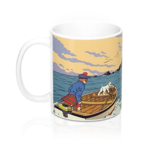 The Black Island - Ceramic Coffee Mug 11oz