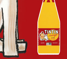 Load image into Gallery viewer, Tintin Orange Soda Vintage Poster