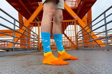 Load image into Gallery viewer, Freshly Pressed Handmade Socks - Tintin