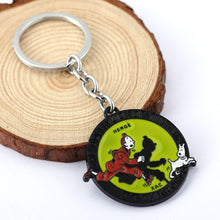 Load image into Gallery viewer, Antique Metal Keychain
