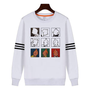 Premium 100% Cotton Tintin Sweatshirt - Limited Edition Print