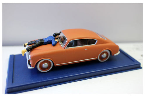 Rare Captain Haddock Toy Car Figurine