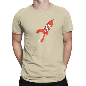 Destination Moon Rocket - Soft 100% Cotton