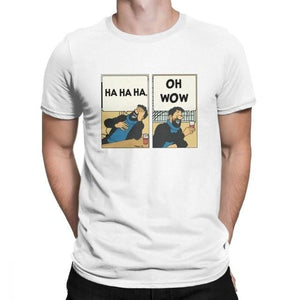 Funny Captain Haddock - Soft 100% Cotton Tee