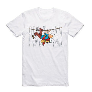 Tintin River Crossing - Soft Cotton Tee