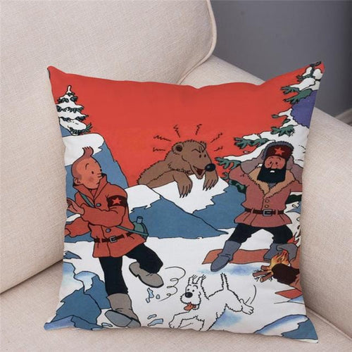 Super Soft Plush Cushion Cover (26 Prints)
