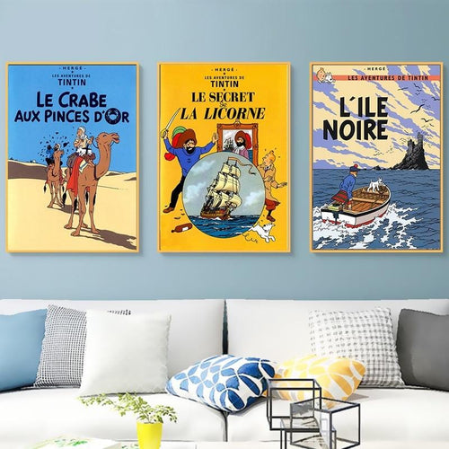 Modern Decorative Wall Posters (French)