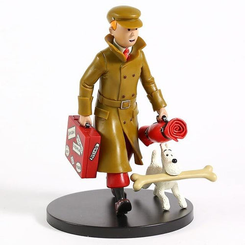Tintin And Snowy - Premium Collectible Model Toy