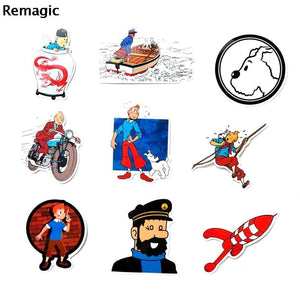 Set of 25 Premium Stickers - All Shapes