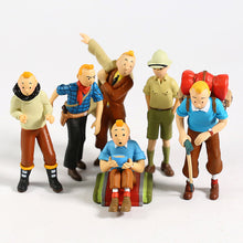 Load image into Gallery viewer, Stunning Tintin 6 Piece Figurine Set