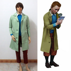 The Adventures of Tintin Cosplay Tintin Costume - Mens/Womens