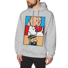 Load image into Gallery viewer, Tintin Milou Haddock - Ultra Soft Hoodie