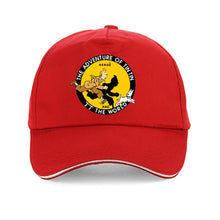 Load image into Gallery viewer, Unisex The Adventures of Tintin - 100% Cotton Snapback Cap