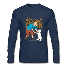 Load image into Gallery viewer, Hergé Tintin - Printed Long Sleeve 100% Cotton Sweatshirt