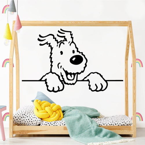 Cute Snowy - Easy Peel and Stick Wall Sticker