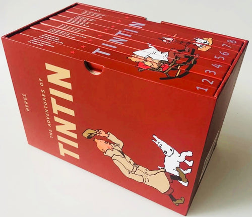 Tintin Hardcover Boxed Book Set