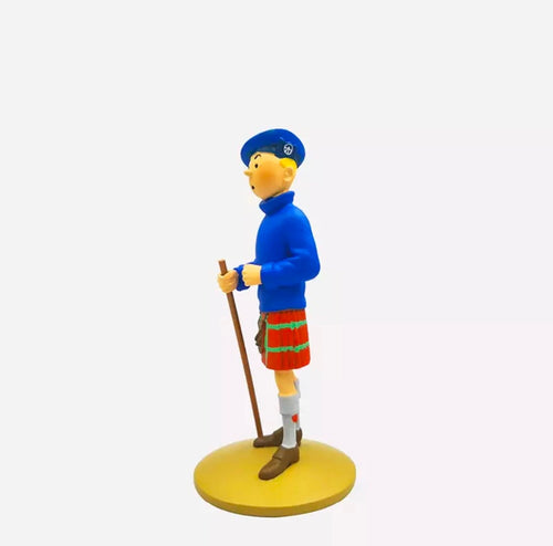 Tintin in The Black Island - Stunning Collectible Model