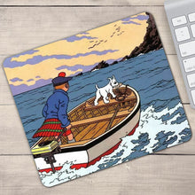 Load image into Gallery viewer, The Black Island Tintin Gaming - Anti-Slip Rubber Mouse Pad (2 Sizes)