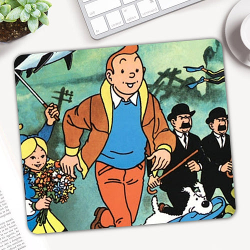 Tintin - Anti-Slip Rubber Gamer Mouse Pad