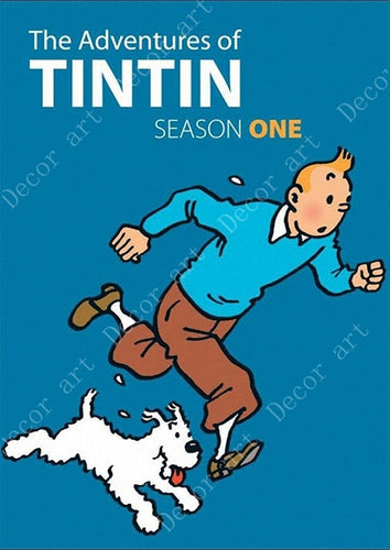 The Adventures of Tintin Comic Wall Posters