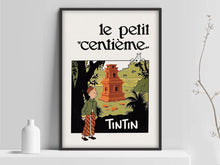 Load image into Gallery viewer, Le Petit Centième - Exhibition Cotton Canvas Poster