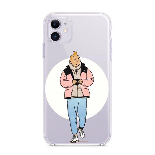 Tintin Street Wear - Soft Silicone iPhone Cover Case