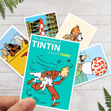 Load image into Gallery viewer, Tintin Stunning Postcards (30 Pieces)