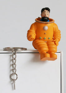 Captain Haddock Spacesuit - Key Chain