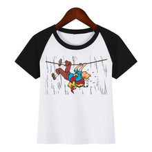 Load image into Gallery viewer, Tintin Rope - Unisex Children's Summer Cotton Tee
