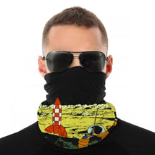 Load image into Gallery viewer, Explorers On The Moon - Balaclava Windproof Face Scarf