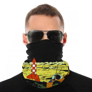 Explorers On The Moon - Balaclava Windproof Face Scarf