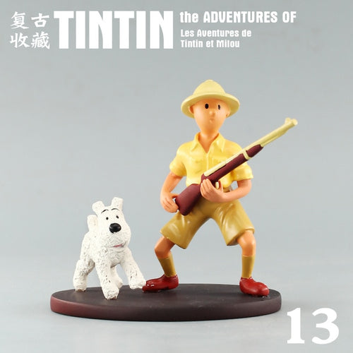 Tintin & Snowy In The Congo - Stunning Collectible Model