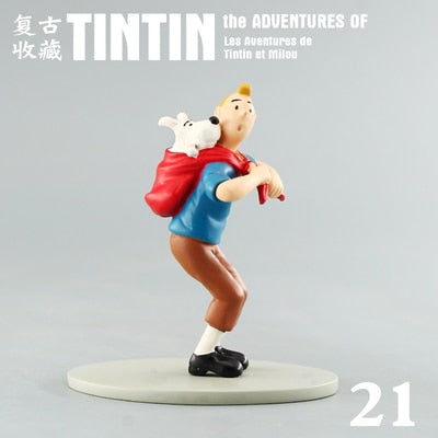 Tintin With Snowy - Stunning Collectible Model