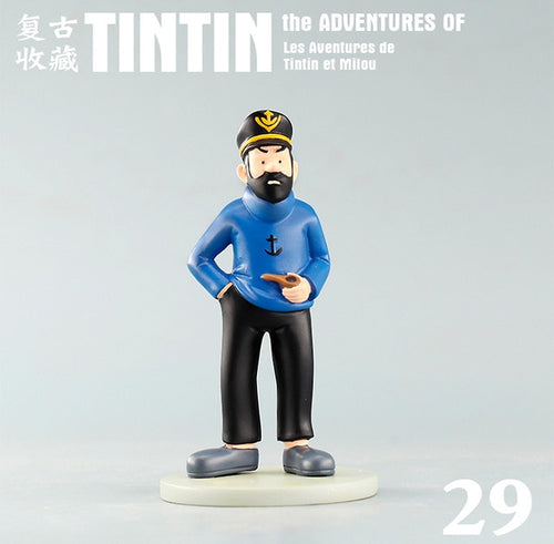 Captain Haddock With Pipe - Stunning Collectible Model