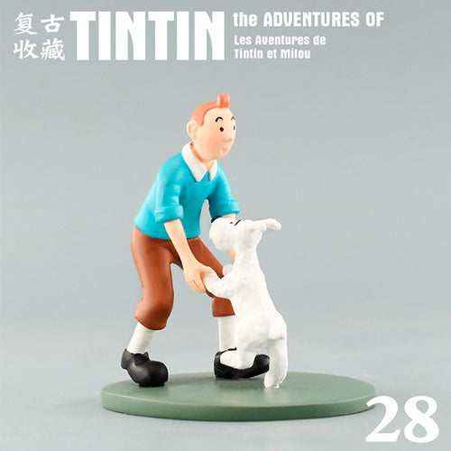 Tintin & Snowy Dance - Stunning Collectible Model