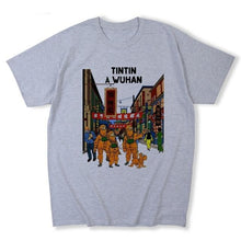 Load image into Gallery viewer, Tintin In Wuhan - Soft 100% Cotton Tee