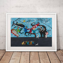 Load image into Gallery viewer, Limited Edition Tintin Canvas Poster