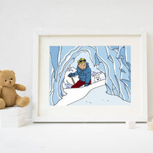 Load image into Gallery viewer, Tintin & Snowy Canvas Poster