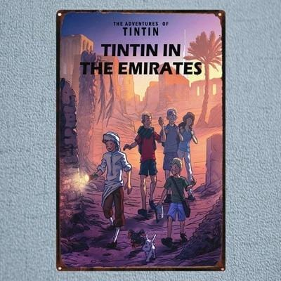 Tintin In The Emirates