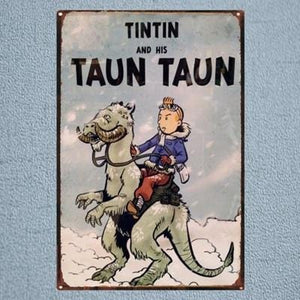 Tintin And His Taun Taun