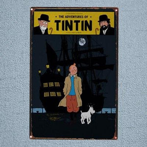 Tintin And Snowy Dark