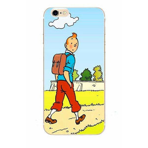 Tintin - Matte Soft Shell iPhone Cover