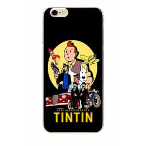 The Adventures Of Tintin - Matte Soft Shell iPhone Cover